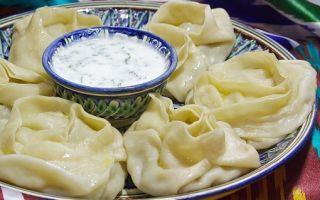 Рецепт приготовления узбекских мантов