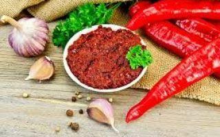 Рецепт грузинской аджики