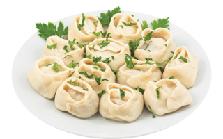 Рецепт казахских мантов