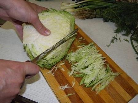 Пельмени со свежей капустой