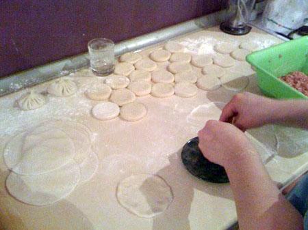 Нежное тесто на воде для хинкали