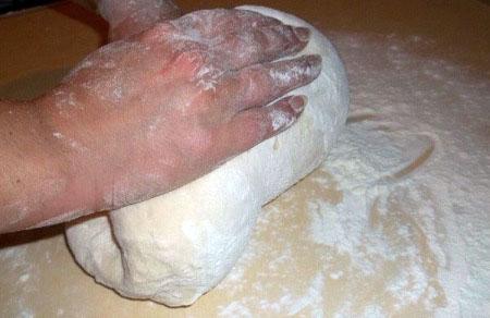 Яичное тесто на хинкали