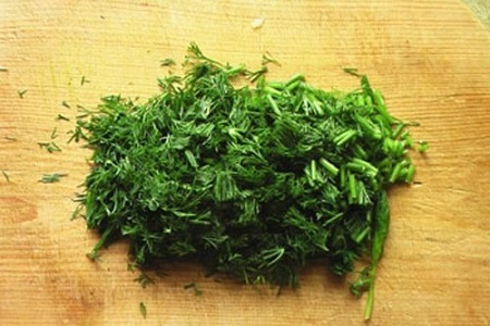 Хинкали с зеленью на пару