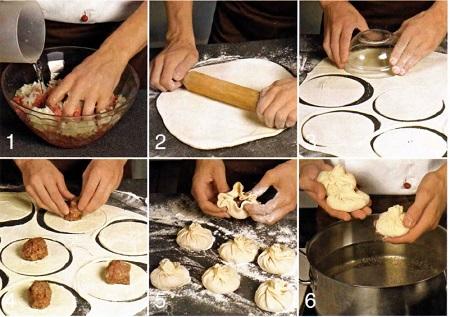 Как приготовить хинкали на пару в мультиварке