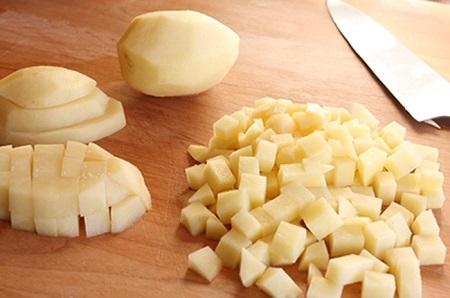 Манты с картошкой и говядиной
