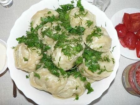 Манты с картошкой и мясом рецепт